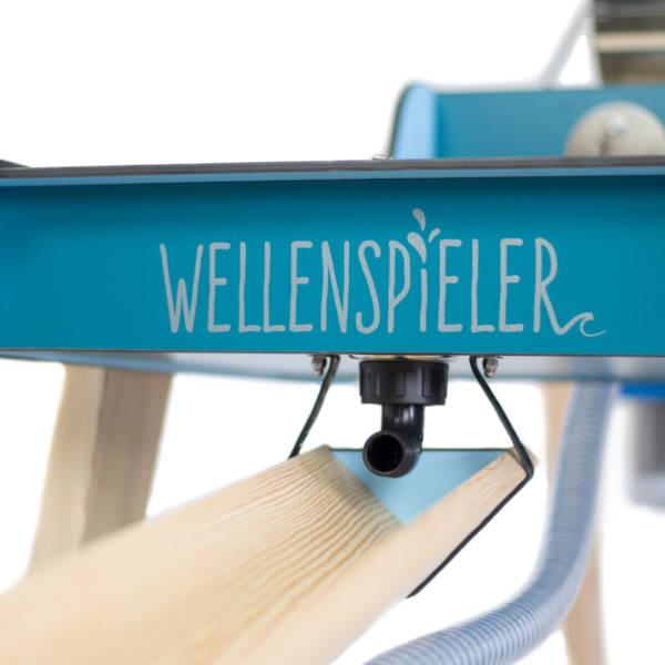 WELLENSPIELER Becken Logo Vorn Detail