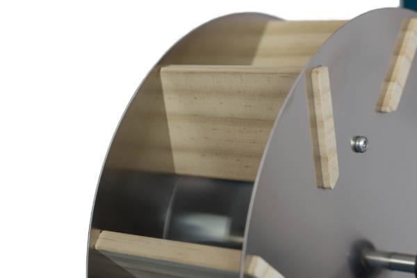 WELLENSPIELER Wasserrad Detail Schaufeln